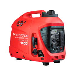 Predator 1400 Watt Super Quiet Inverter Generator With CO SECURE™ Technology - 57063