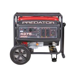 Predator 4375 Watt Gas Powered Portable Generator, EPA III - 63962