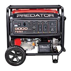 Predator 9000 Watt Gas Powered Portable Generator, EPA III - 63970