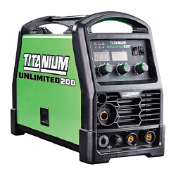 Titanium Unlimited 200™ Professional Multiprocess Welder With 120/240 Volt Input