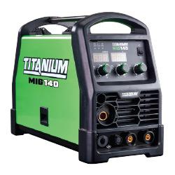 Titanium MIG 140 Professional Welder With 120 Volt Input - 64804