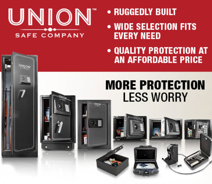 Union Safe Co. More Protection Less worry