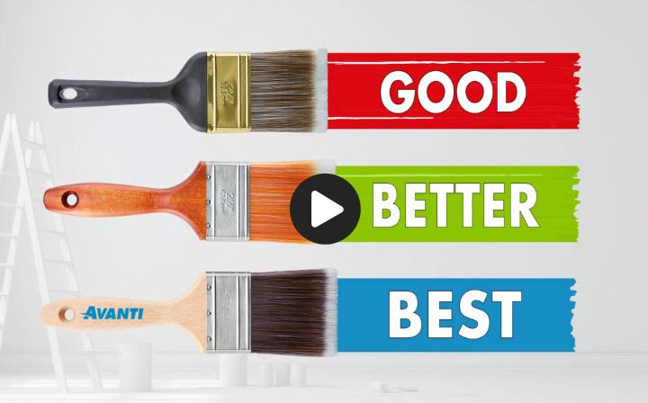 Paint Supplies - Good - Better - Best - Video